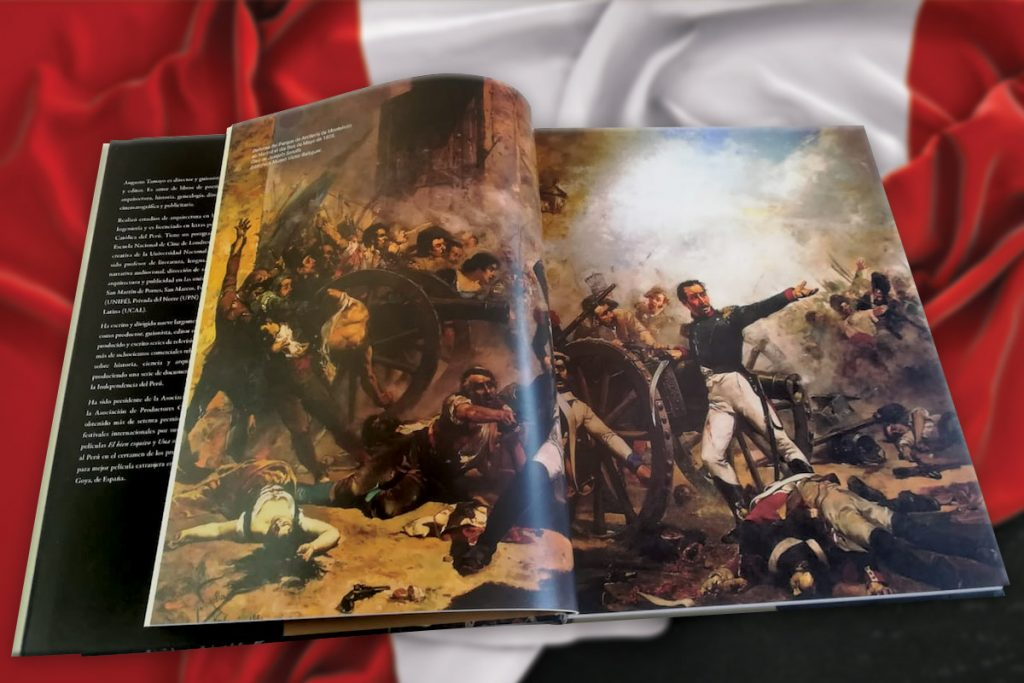 Libro de Bicentenarios de la Independiencia del Perú